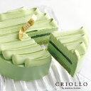 【糖質制限ケーキ】スリム・レアチーズ抹茶(直径12cm)約2〜4名様用 あす楽【冷凍便】