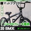 BMX 自転車 20インチ BMX 街乗り ペグ ジャイロブレーキ BMX ハンドル【送料無料】但し