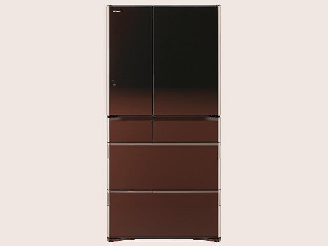 日立 冷凍冷蔵庫 WXシリーズ R-WX7400G(ZT) [グラデーションブラウン]