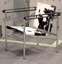 イタリア レザーフォーム製!デザイナーズ家具!ル・コルビジェ LC1スリングチェア ポニー【...