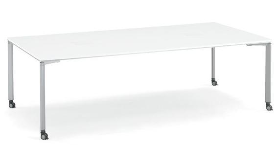 コクヨ ワークソート テーブル StandardDeep キャスター脚 幅2400×奥行1200×高さ720mm【SD-WSC2412P81】  送料無料!