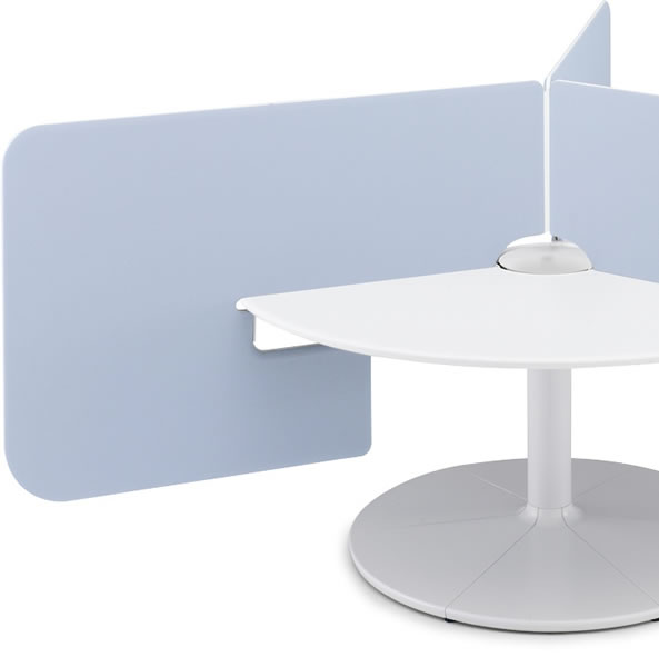 コクヨ ワークリンク専用 デスクトップパネル ブースタイプ 直径1600mm用 ※受注生産品(3~4週間)【SDV-CT139】  送料無料!