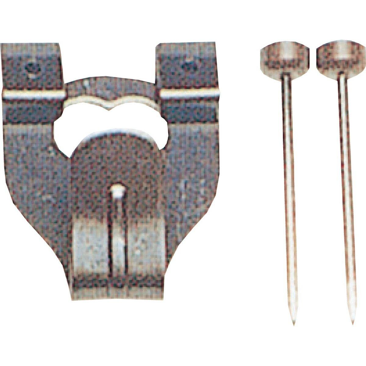 Artec(アーテック) 鉄並Xフック 中 2本針 4012 単品 #196174