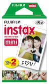 FUJIFILM<富士フイルム>インスタントカメラ チェキ専用 インスタントカラーフィルム instax mini 2パック INSTAX MINI K R 2 【RCP】