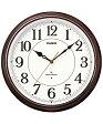 カシオ(CASIO) 壁掛け時計 濃茶 電波時計 IQ-1051NJ-5JF 【送料無料】 【RCP】 02P29Aug16