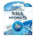 Schick シックHYDRO5 ハイドロ5 替刃8個入【HDRI5-8】5枚刃髭剃り 替え刃