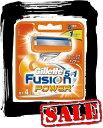 【エコパラダイス】New! Gillette Fusion5+1 POWERジレット フュージョン パワー 替刃4個入
