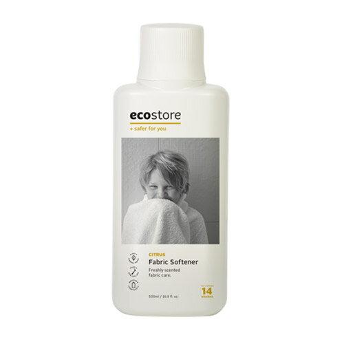 エコストア ecostore ファブリックソフナー シトラス 500mL 柔軟剤 ナチュラル
