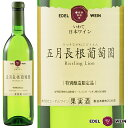 五月長根葡萄園2018リースリングリオン白やや辛口720ml国内外のコンクールで連続入賞世界が認めた白ワイン受賞ワインエーデルワイン日本ワイン