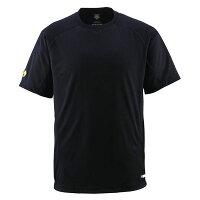 直送・代引不可デサント(DESCENTE) ジュニアベースボールシャツ(Tネック) (野球) JDB200 ブラック 140別商品の同時注文不可の画像