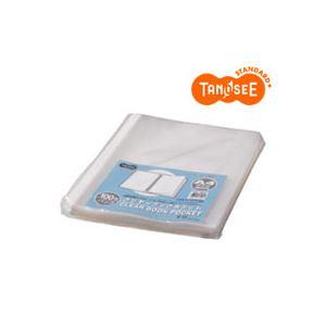 直送・(まとめ)TANOSEE クリヤーブック クリアブックポケット A4タテ 30穴 100枚入×12パック別商品の同時注文 クリヤーファイル クリヤーファイル関連用品 リフィル(クリヤーポケット)