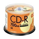 直送・代引不可(まとめ) TANOSEE データ用CD-R 700MB 48倍速 ホワイトプリンターブル スピンドルケース SR80FP50T 1パック(50枚) 【×4セット】別商品の同時注文不可