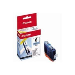 直送・ (業務用50セット) Canon キヤノン インクカートリッジ 純正 【BCI-6PC】 フォトシアン(青) 別商品の同時注文 プリンターインク トナーカートリッジ OAインク トナー リボン