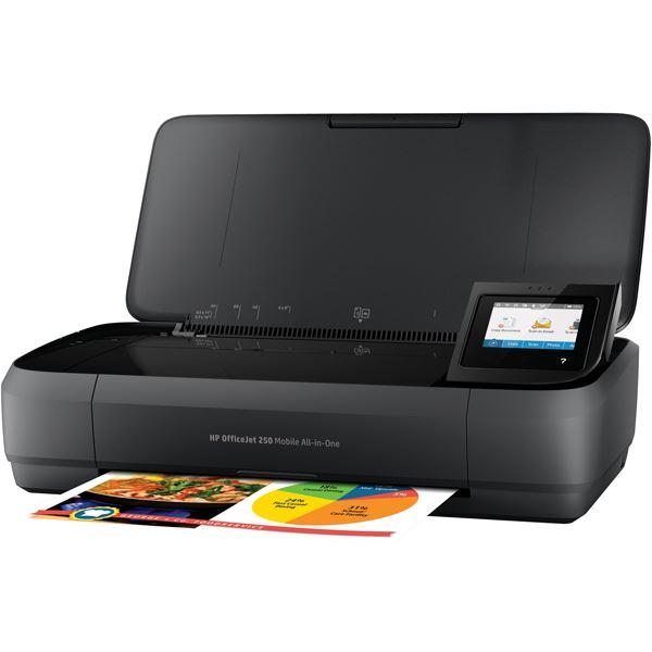 直送・HP(Inc.) HP OfficeJet 250 Mobile AiO CZ992A#ABJ別商品の同時注文 プリンタ/プロッタ  >  インクジェット複合機  >  スキャナー付/FAXなし
