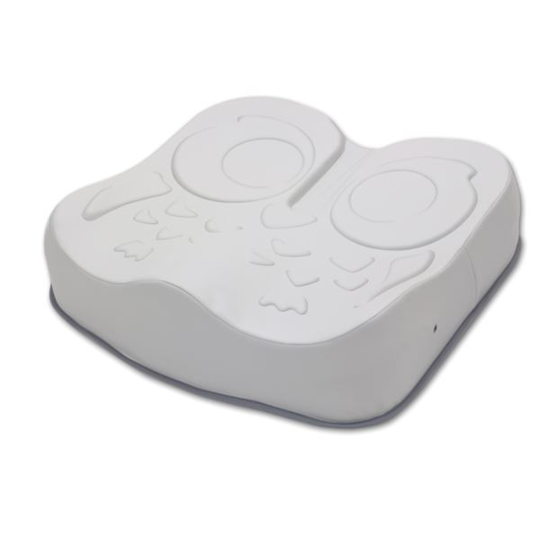 直送・代引不可加地 座位保持クッション アウルREHA (4)3Dハイ OWL24-BK1-4040別商品の同時注文不可