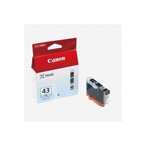 直送・ (業務用40セット) Canon キヤノン インクカートリッジ 純正 【BCI-43PC】 フォトシアン 別商品の同時注文 プリンターインク トナーカートリッジ OAインク トナー リボンアンチ縮小