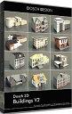 D3D-BUV2 「直送」【代引不可・他メーカー同梱不可】 DOSCH DESIGN DOSCH 3D: Buildings V2
