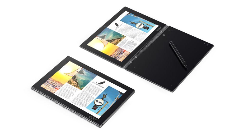 ZA0W0182JP 「直送」【代引不可・他メーカー同梱不可】 レノボ YOGA BOOK(10.1/Android 6.0/カーボンブラック/4GB+64GB/WWANあり)(WEBモデル)【100入】