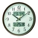 ショッピング掛け時計 【ポイント2倍】RHYTHM 8FYA04SR06 リズム 電波掛時計