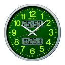ショッピング掛け時計 SEIKO KX237H 大型電波掛時計