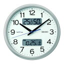 """ショッピング電波時計 SEIKO ZS251S 電波掛時計 """"セイコーネクスタイム ZS251S"""" ハイブリッド電波時計"""