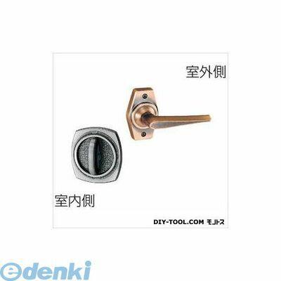川口技研 [HL-2C] ホームレバーシリーズ 戸襖錠 和室用 バックセット65 仕上:銅ブロンズ HL2C