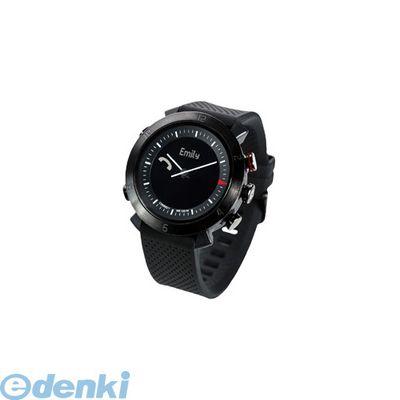 CONNECTEDEVICE [4562187616154] Bluetooth SMART対応アナログ腕時計 COGITO CLASSIC シリコンバンド ブラック【送料無料】
