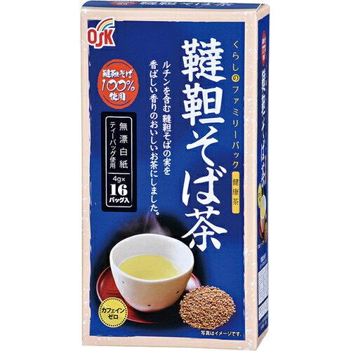 個数:1個[4901027629570]小谷穀粉くらしのファミリーP韃靼そば茶4g×16袋
