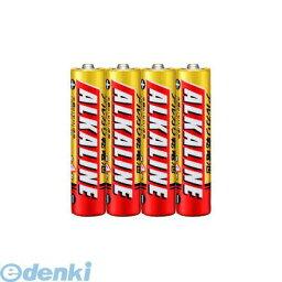 【あす楽対応】三菱電機 [LR03R/4S] アルカリ電池単4×4本パック【AKB】【即納・在庫】