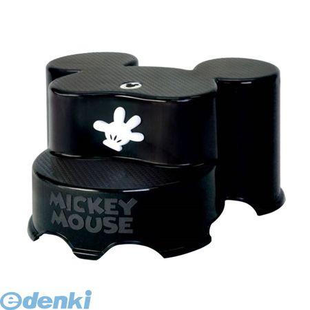 錦化成[4904121310689] 踏み台 ミッキーマウス キャラ・ステップ2段ブラック