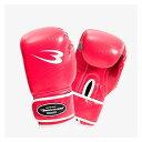 ボディメーカー(BODYMAKER)[4571406278547] フィットネスボクシンググローブ 12OZ ピンク KG024