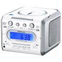 【ポイント2倍】オーム電機 07-9808 CDクロックラジオ RCD−C008Z 079808 AudioComm OHM