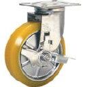 【あす楽対応】「直送」シシクアドクライス SUNJB-150-SEUW ステンレスキャスター 制電性ウレタン車輪自在ス SUNJB150SEUW