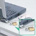 【お買得セール商品】サンワサプライ [SL-21K] ノートパソコン&マウスセキュリティ SL21K【セール品につき、完売の際はご容赦ください】
