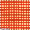 ササガワ(タカ印) [49-1158] 包装紙 レトロチェック赤 半才判 491158