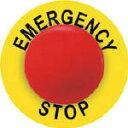 【あす楽対応】パンドウイットコーポレーション(パンドウイット) [C235A830ES] 非常停止ボタン用ラベル