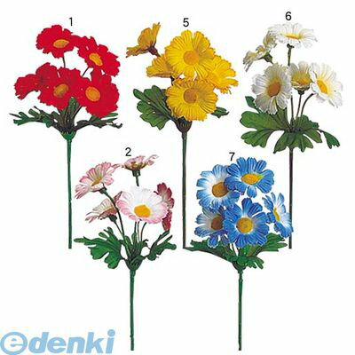 【造花・装飾】【数量限定につき、売切の際はご了承ください】[FLPC10591] デイジーピック レッド FLPC1059
