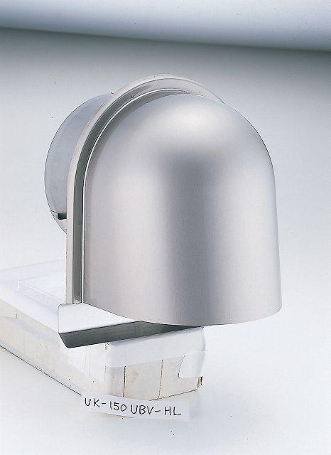 宇佐美工業 [UK-UGEN150S-HL] U型フード付ガラリ UKUGEN150SHL