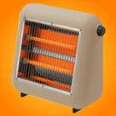 体の内側から暖まる遠赤外線タイプ。熱効果が大きく、体に浸透しやすい。プラスマイナスゼロ 電気ストーブ XHS-U010LT