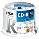TDK CD-R80PWDX50PE
