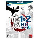 Wii Uで贈る大人のためのエンタテイメント!【】セガ 龍が如く 1&2 HD for Wii U【Wii U専用】 WUPPARYJ [WUPPARYJ]