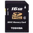 CLASS4に対応したSDメモリ。【ポイント10倍(7/26 00:00〜)】東芝 SDHCメモリーカード(Class4対応・16GB) SD-L016G4 [SDL016G4]
