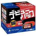 【送料無料】SCE PlayStation Vita デビューパック Wi-Fiモデル レッド/ブラック PCHJ10024 [PCH10024]