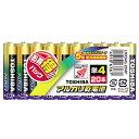 東芝 単4形アルカリ乾電池 20本入り アルカリ1 LR03AG20MP [LR03AG20MP]
