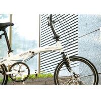 WACHSEN20インチアルミ折りたたみ自転車6段変速Weiβ(ヴァイス)ホワイトBA-101[BA101]