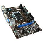 【送料無料】MSI マザーボード H81M-P33 [H81MP33]【05P27May16】