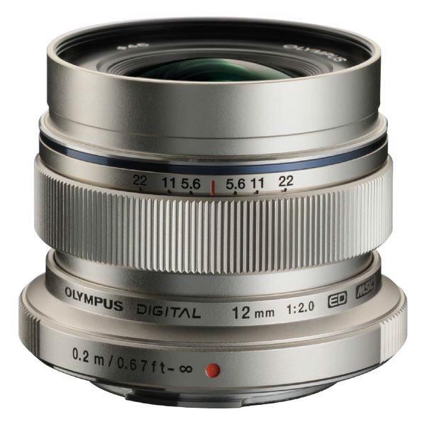 オリンパス M.ZUIKO DIGITAL ED 12mm F2.0 シルバー