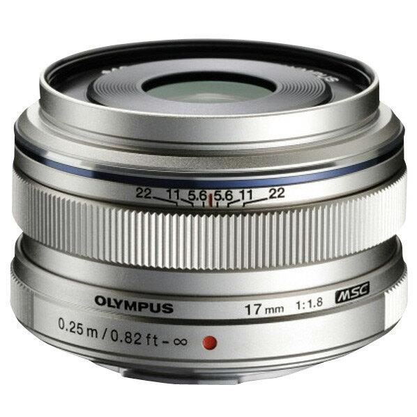 オリンパス M.ZUIKO DIGITAL 17mm F1.8 シルバー
