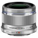 オリンパス 単焦点レンズ M.ZUIKO DIGITAL 25mm F1.8 シルバー 25MM F...
