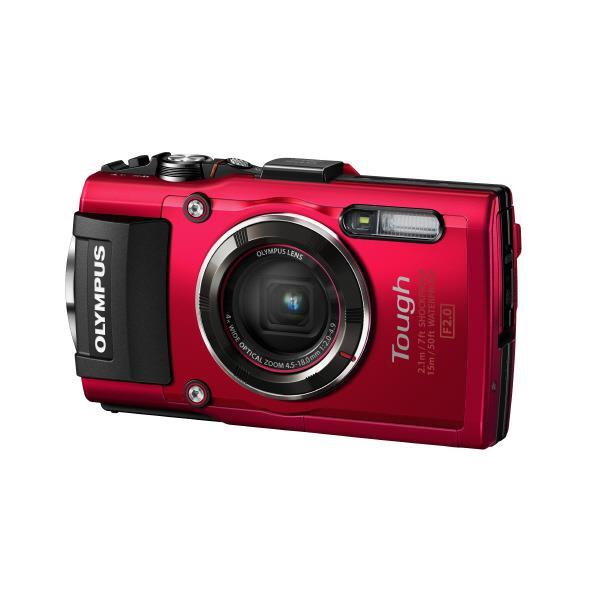 【送料無料】オリンパス デジタルカメラ STYLUS T(Tough)シリーズ レッド TG-4 RED [TG4RED]